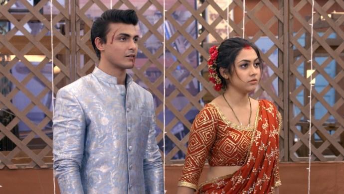 Still from Tujhse Hai Raabta with Kalyani and Rachit